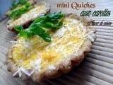 Mini quiches aux carottes