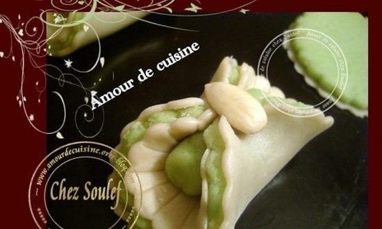 Les nœuds aux amandes, عقدة باللوز gateau algerien
