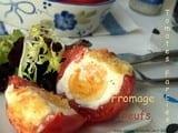Tomates farcies, Nids en tomates aux oeufs