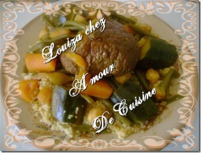 Cuisine algerienne amour de cuisine for Amour de cuisine algerienne