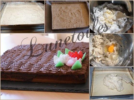 Ondulés noisettes et chocolat