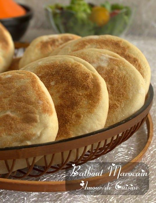 Batbout marocain amour de cuisine for Amour de cuisine
