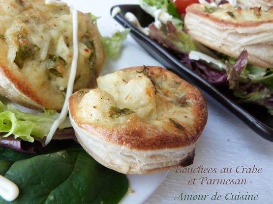 bouchees au crabe et parmesan 016