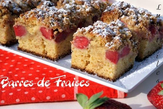 crumble de fraises
