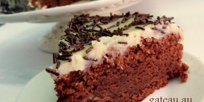 gateau au chocolat sans oeufs
