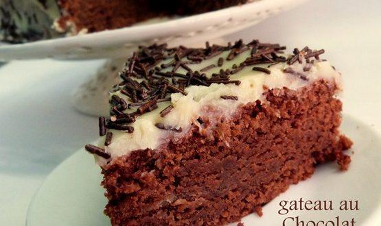 gateau au chocolat sans oeufs, recette delicieuse