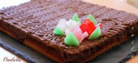 Ondulés noisettes – gateau au chocolat