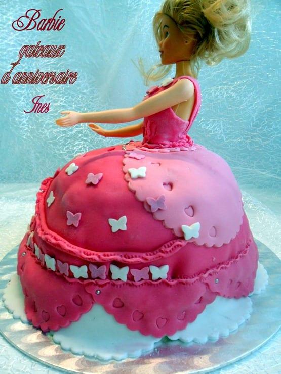 gateau d'anniversaire barbie 020