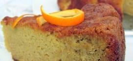 gateau sans gluten aux oranges et amandes