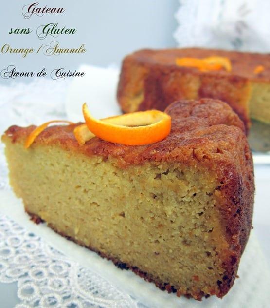 Gateau Sans Gluten Aux Oranges Et Amandes Amour De Cuisine