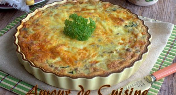Gratin de courgettes amour de cuisine - Cuisine tunisienne ramadan ...