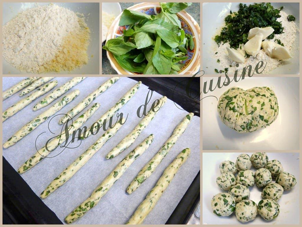 recette de gressins très facile