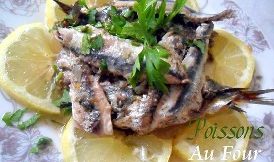 sardines au persil au four