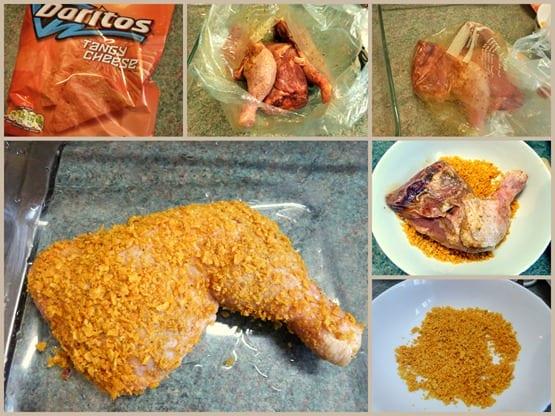 poulet a la doritos