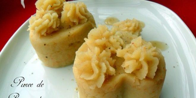 Purée d'amour a la patate douce et gingembre
