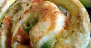 pizza roulée au thon, ou roulés au thon