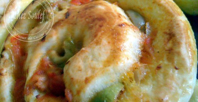 recette de pizza roulée au thon