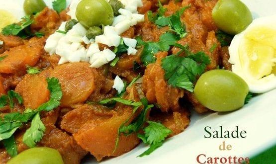 salade de carottes a la chermoula