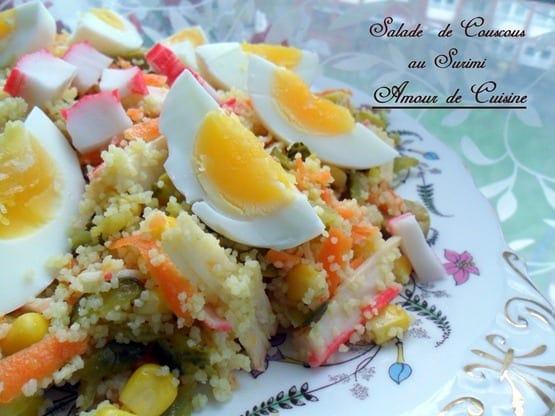 salade de couscous au surimi 016