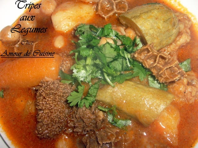 Bakbouka tajine de tripes de mouton cuisine algerienne amour de cuisine - Recette de cuisine algerienne gratins ...