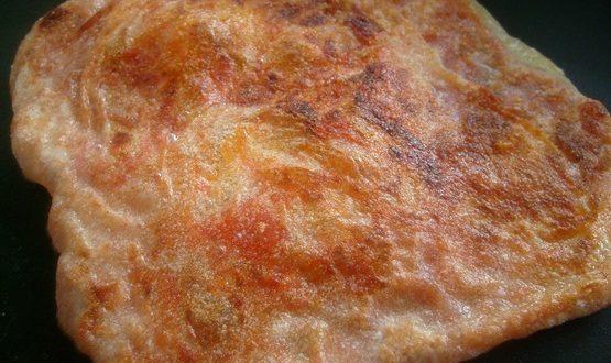 msemens farcis, Crepes algerien farcies