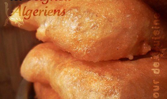 beignet algerien, Sfenj