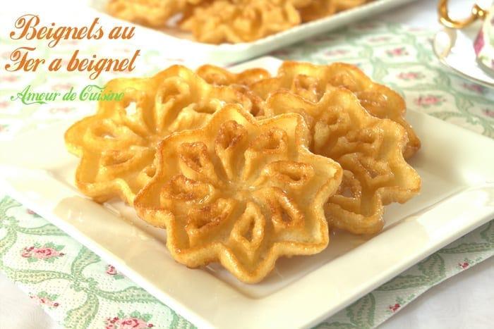 beignets au fer a beignet, gateau algerien