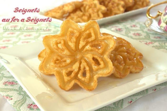 Beignets au fer a beignet gateau algerien amour de cuisine for 1 amour de cuisine