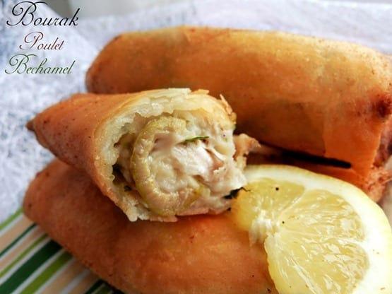 Bourek au poulet a la bechamel amour de cuisine for 1 amour de cuisine