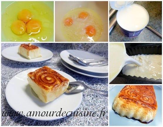 Flan Au Lait Concentre Sucre Facile Nestle Amour De Cuisine