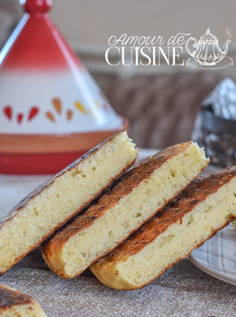 matlouh, pain arabe à la semoule 1