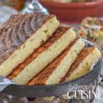 matlouh, pain arabe à la semoule