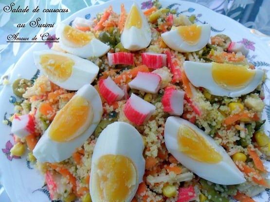 salade de couscous au surimi 013