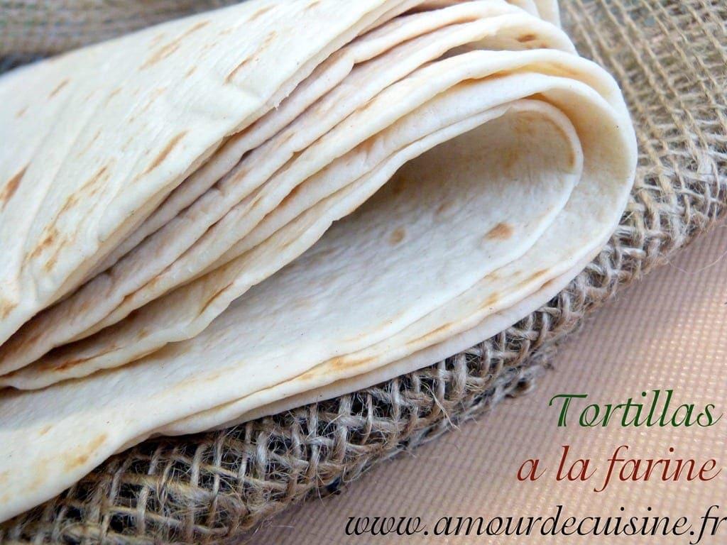 tortillas à la farine de blé
