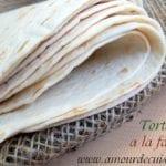 tortilllas à la farine