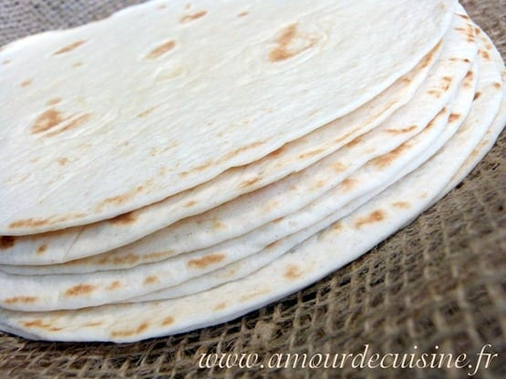 Tortillas à la farine recette en vidéo