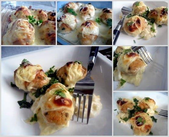 2011-09-26 gratin au boules de poulet