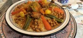 couscous algérien au poulet