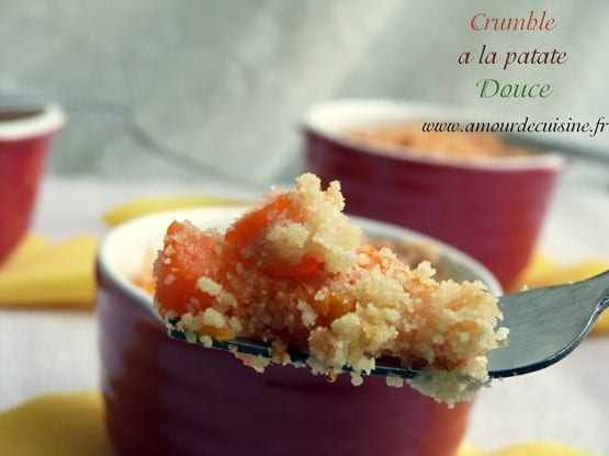 crumble patate douce carotte 058