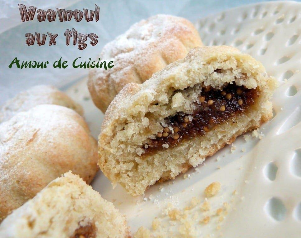 Maamoul aux figs gateaux farcis amour de cuisine - Amour de cuisine gateau sec ...