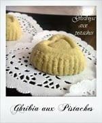 gribiya au pistache