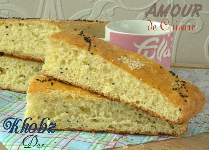 article khobz pain maison