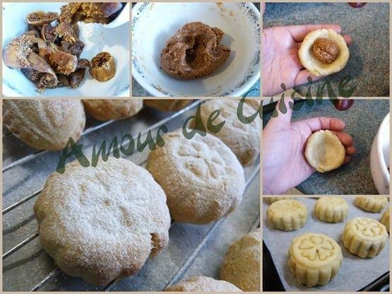 maamoul aux figs, gateaux secs, patisserie orientale