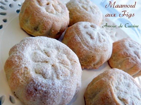 maamoul aux figs, gateaux secs