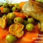 olives aux champignons