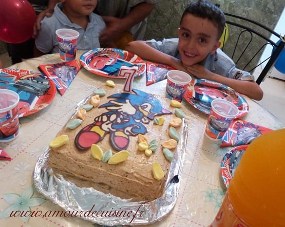 rayan birthday cake 105