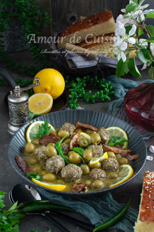 tajine zitoune, cuisine algerienne