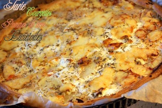 tarte courgette et pomme de terre 2