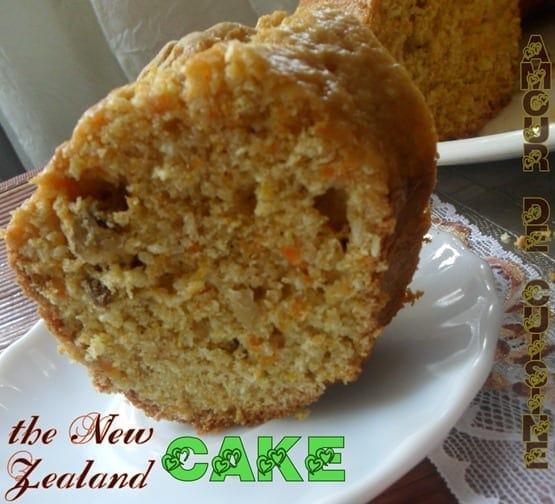 the new zealand carotte cake