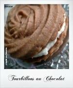 tourbillon au chocolat, biscuit algerien, gateau algerien